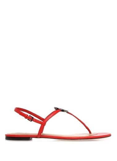 Tory Burch Sandalet Kırmızı
